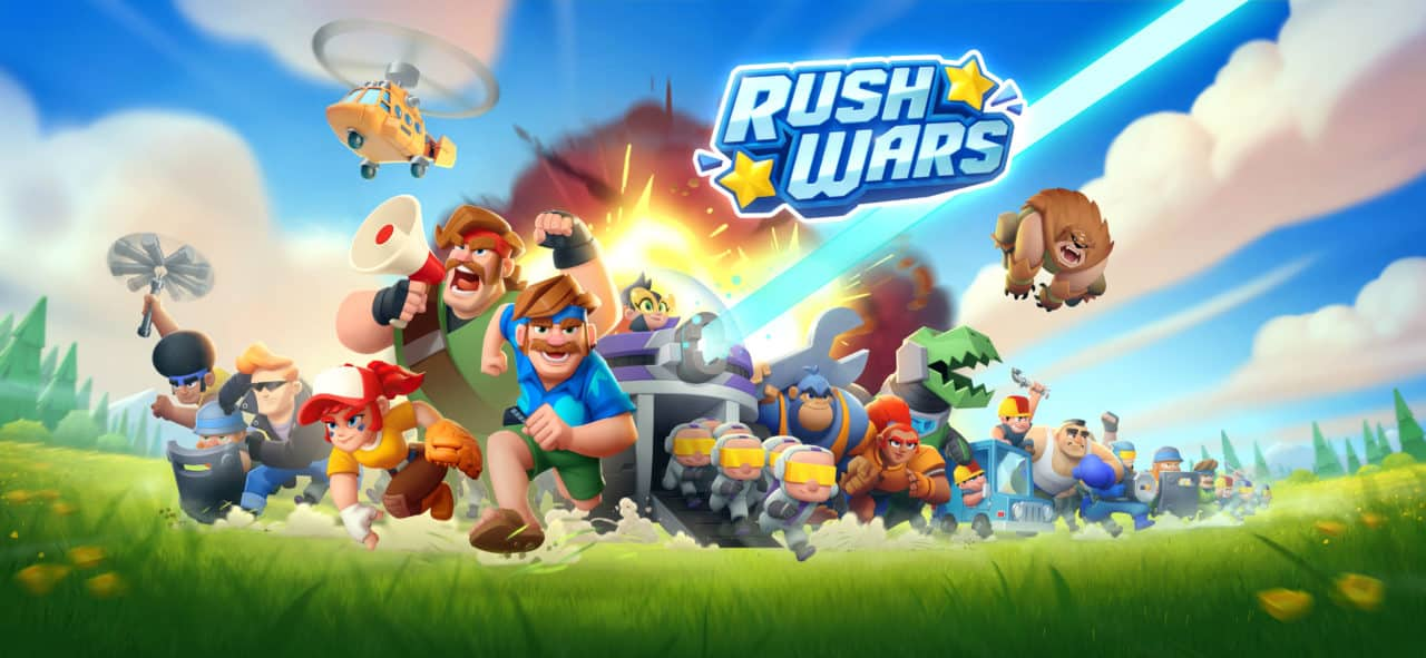 Tapeta Rush Wars